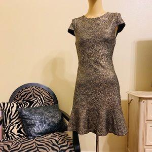 Michael Michael Kors Glitter Gold Dress